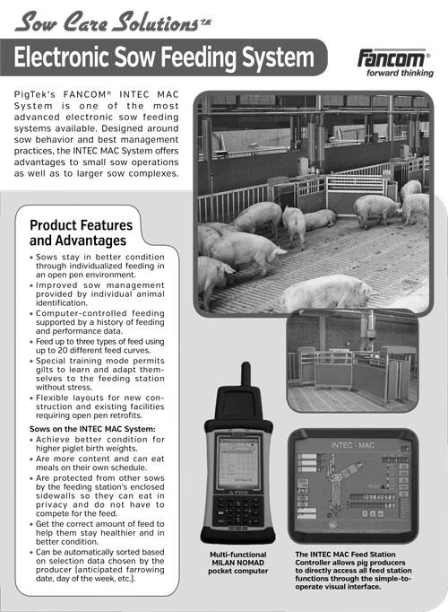 FANCOM - Electronic Sow Feeding System