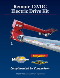 Remote 12VDC Electric Drive Kit